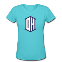 Women's V-Neck T-Shirt by DeAndre Hopkins