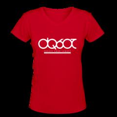 Women's V-Neck T-Shirt by DaQuan Jones