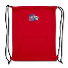 Sweatshirt Cinch Bag by DaQuan Jones
