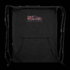 Sweatshirt Cinch Bag by Ian James
