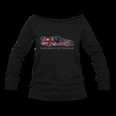 Women's Wideneck Sweatshirt by Ian James