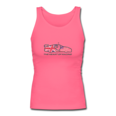 Women's Longer Length Fitted Tank by Ian James