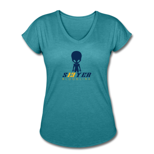Women's Tri-Blend V-Neck T-shirt