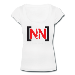 Women's Scoop Neck T-Shirt by Nadia Nadim