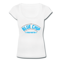 Women's Scoop Neck T-Shirt by Ryan Martin