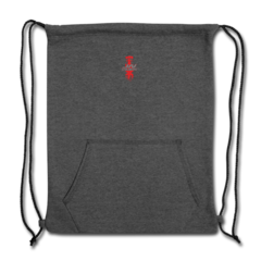 Sweatshirt Cinch Bag by Justin Wilson