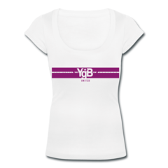 Women's Scoop Neck T-Shirt by YgB United