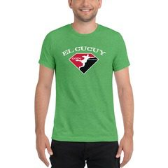 3413 Unisex Triblend Short Sleeve T-Shirt with Tear Away Label