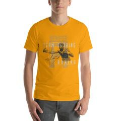 3001 Unisex Short Sleeve Jersey T-Shirt with Tear Away Label