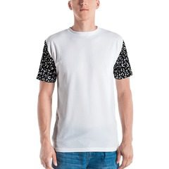 All-Over Print Men's Crew Neck T-Shirt