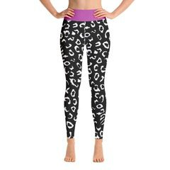 All-Over Print Yoga Leggings