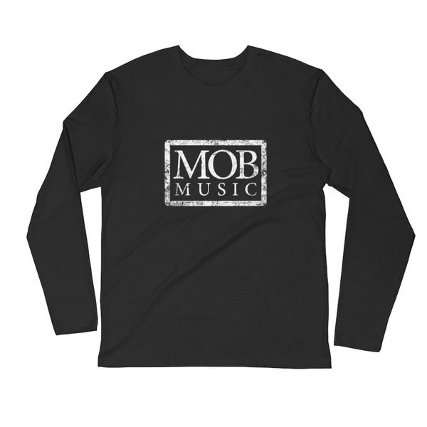 3601 Premium Fitted Long Sleeve Crew