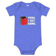 100B Baby Jersey Short Sleeve One Piece