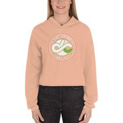 7502 Women's Fleece Crop Hoodie